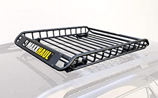 MaxxHaul 70115 Steel Roof Rack-150 lb Capacity (Renewed)