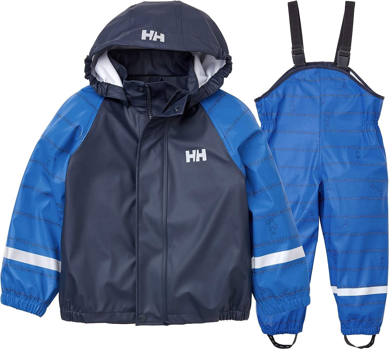 Helly-Hansen Max 40% 5% OFF OFF Kids Bergen AOP Rainset Waterproof Printed Pu