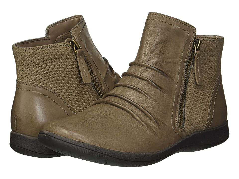 Rockport Daisey Panel Boot (Stone) Women's Boots