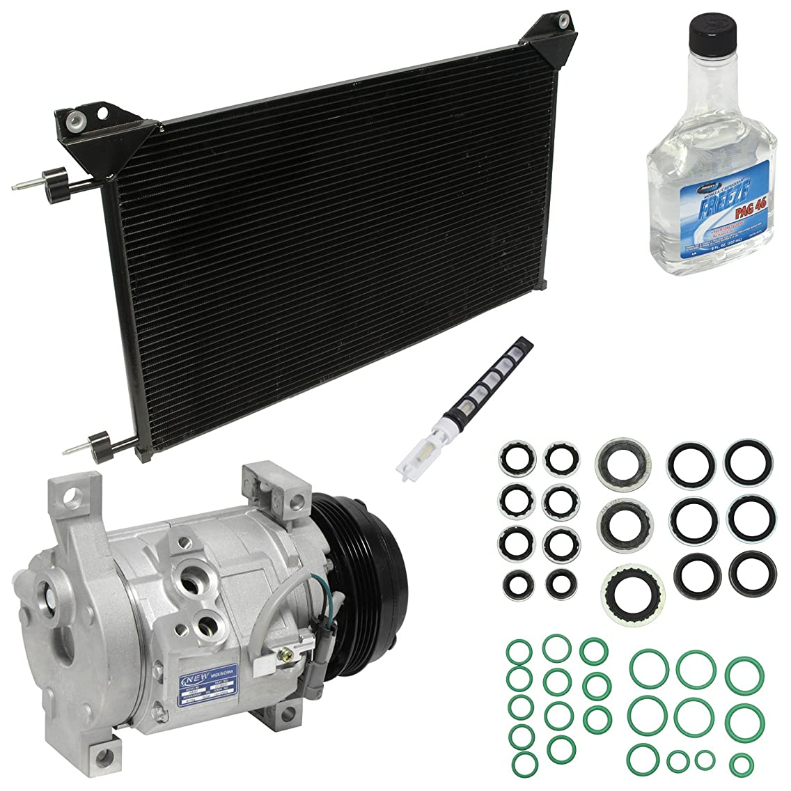 Universal Air Conditioner KT 4037A A/A/C Compressor/Component Kit