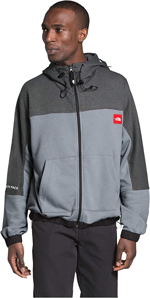 Mid Grey Heather/TNF Dark Grey Heather