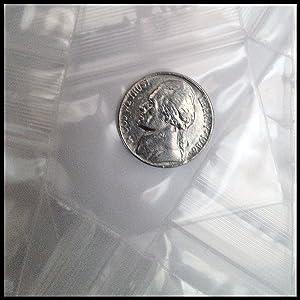 2015 Original Mini Resealable 2mil Plastic Bags 2