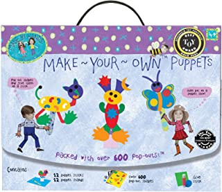Made By Hands Make Your Own Puppets DIY Puppet Making - Craft Kit for Age 4 Years and Older