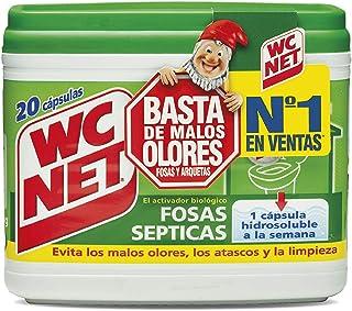 comprar comparacion Wc Net Fosa Septica Wc Net Fosas Septicas 20 Capsulas x 18 g, Multicolor