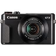 Canon PowerShot Digital Camera [G7 X Mark II] with Wi-Fi & NFC, LCD Screen, and 1-inch Sensor -...