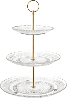 brass tiered stand