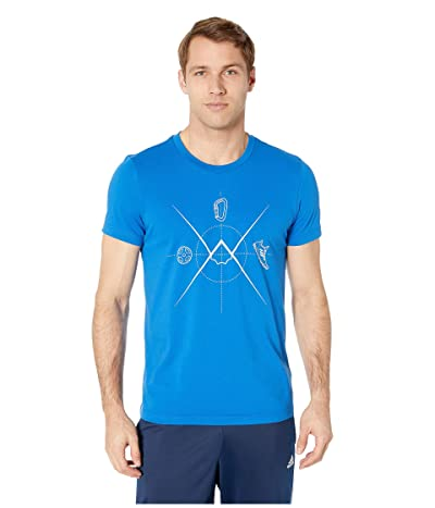 adidas Outdoor Ascend Tee (Blue Beauty) Men