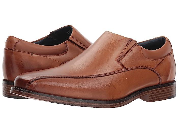Dockers  Franchise 2.0 Bike Toe Loafer (Butterscotch Polished Full Grain) Mens Shoes
