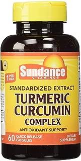 Sundance Turmeric Curcumin Complex Capsules, 60 Count