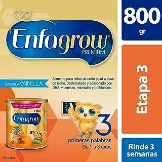 Leche de Crecimiento en Polvo para Niños mayores de 12 Meses Enfagrow Premium Etapa 3 Sabor Vainilla Lata de 800 gramos