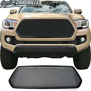 Grille for 2016 2017 Toyota Tacoma with Black Bezel by customcargrills
