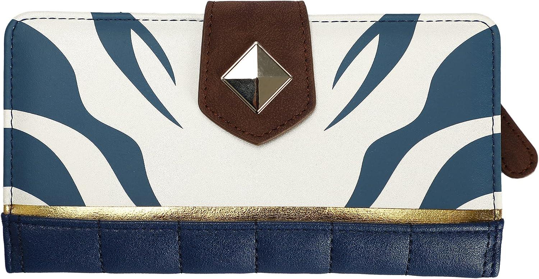Ahsoka cosplay bifold wallet