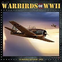 Warbirds of WWII 2021 Wall Calendar