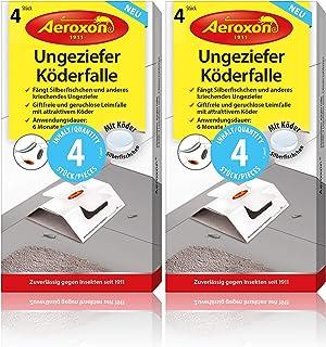 Aeroxon Ungeziefer Köder-Falle 8 Stück – zuverlässiges fangen von Ungeziefer –..