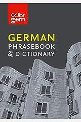 Collins German Phrasebook and Dictionary Gem Edition (Collins Gem) Kindle Edition