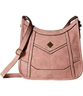 b.o.c. Copper Creek Scoop Crossbody W/Power Bank