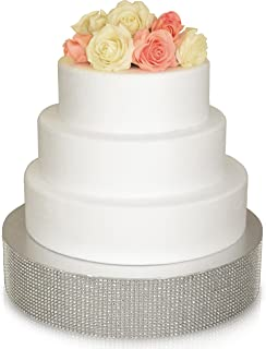 Best 16 inch silver round cake stand Reviews