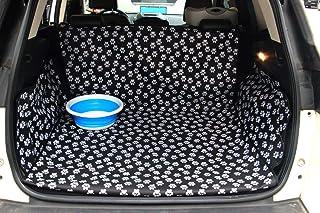 Chusstang Kofferraumschutz Hunde Auto, Universal Kofferraumdecke Ideal für deinen Hund Kofferraumschutzmatte mit Seitenschutz für Kofferraum Kofferraumschutzdecke Hund Wasserdicht/Pflegeleicht