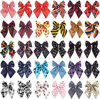 Segarty Dog Bow Ties, Adjustable Pet Bowties Collar for Medium Large Dogs, Dog Bowknot Neckties Costumes Grooming Accessories for Daily Wearing Birthday Holiday Festival Party Gifts