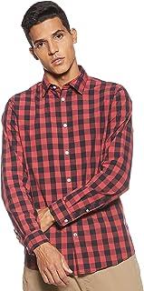 Jjegingham Shirt L/S Camisa para Hombre