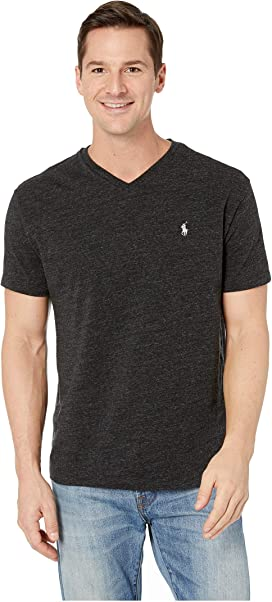 ed132c65d 26/1 Jersey V-Neck Short Sleeve Classic Fit T-Shirt. Polo Ralph Lauren