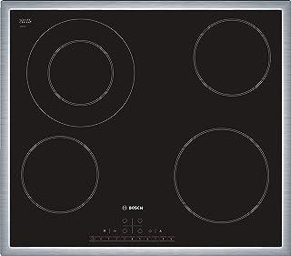 Bosch 60 cm 4 Ceramic Burners Electric Hob, Black finish - PKF645K17Q