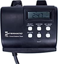 Intermatic HB880R 15-Amp Outdoor Digital Timer for Control of Lights, Decorations, Pumps or Fans with Astronomic Self Adjust