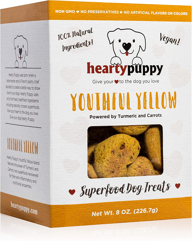 HEARTY online shopping PUPPY Vegan Superfood Dog 100% Grad Treats Natural Human Ranking TOP8