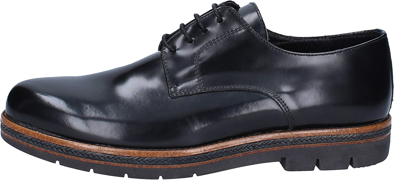 SALVO FERDI Elegante Schuhe Herren Leder schwarz