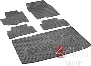 3D Gummifußmatten Gummimatten für Suzuki SX-4 S Cross ab 2013 4-tlg Set