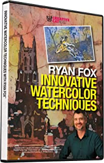 INNOVATIVE WATERCOLOR TECHNIQUES WITH RYAN FOX DVD, Art Instruction, Art Improvement, Art Education, Watercolor Painting, Become a Better Artist
