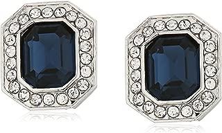 emerald clip on earrings