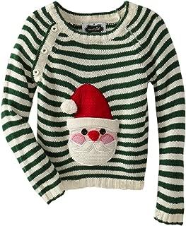 Baby-Boys Newborn Knit Santa Sweater