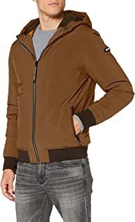 Scotch & Soda Men's Hooded Quilted Stretch-Nylon Jacket