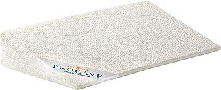 PROCAVE Klin do łóżka, poduszka piankowa w kształcie klina, oddychające podwyższenie materaca, Made in Germany, podwójna p...