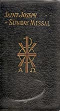 Saint Joseph Sunday Missal - Confraternity Version - Simplified Arrangement of Praying the Mass on All Sundays and Feast Days with Prayers - Large Type, Latin- English Edition