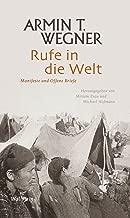 Rufe in die Welt: Manifeste und Offene Briefe (Armin T. Wegner: Ausgewählte Werke in Einzelbänden) (German Edition)
