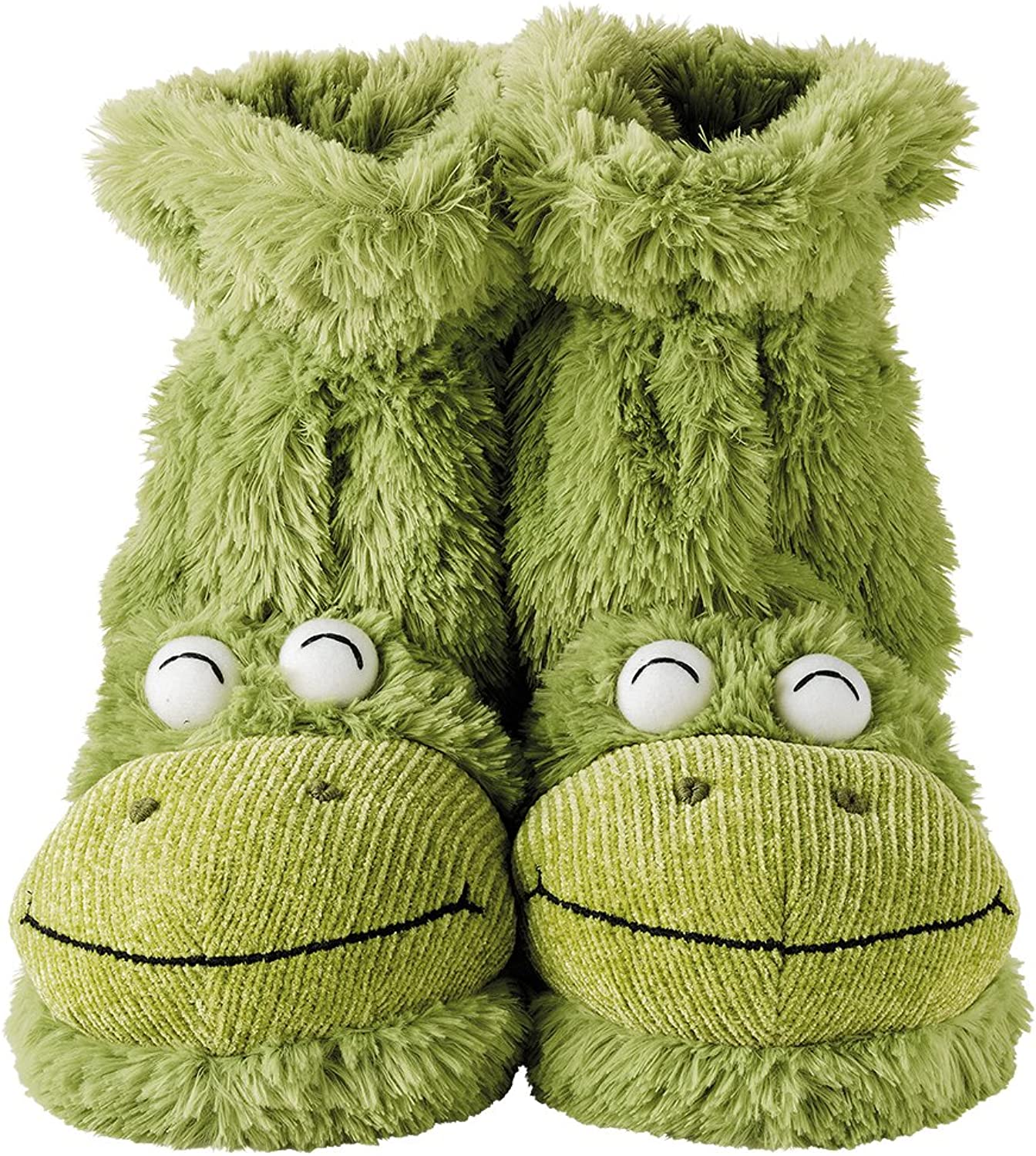 Aroma Home Fun for Feet Frog Slipper Boots