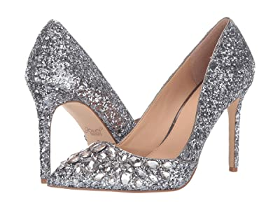 Jewel Badgley Mischka Ulyana (Smoke) Women