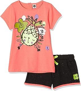 c1f67221317343 Tuc Tuc Camiseta+Short Punto Niña Fruit Festival Completino Bambina