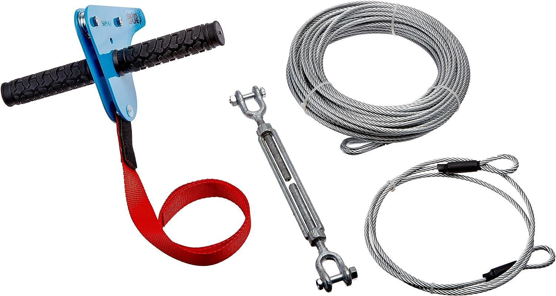 Slackers 90Feet Value Series Zipline Kit, blueee