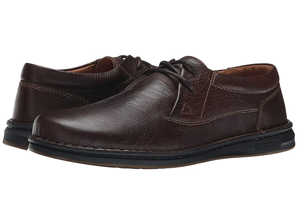 Birkenstock Memphis (Dark Brown Leather) Men