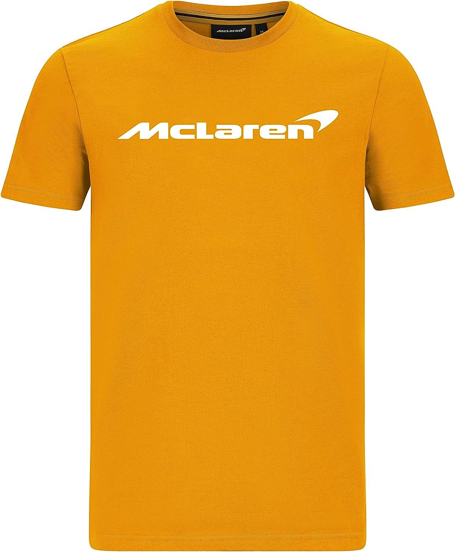 McLaren - Mercancía Oficial de Fórmula 1 2021 Colección - Hombre - Essentials tee - Manga Corta