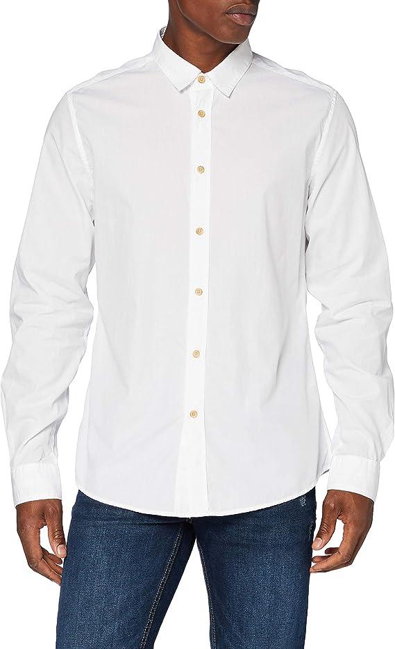 Springfield Camisa Fil A Fil Franq-c/12, Camisa casual Hombre