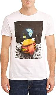 Fortnite Mens FTFN00LMSCHP1XX Official Licensed Durrr Burger Beef Boss Outer Space T-Shirt Short Sleeve T-Shirt