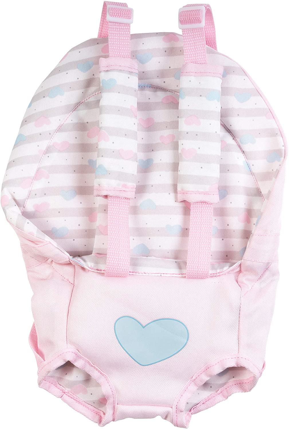 Adora Baby Doll Carrier In Classic Pastel Pink, Fits Up To 20 Inch Baby Dolls