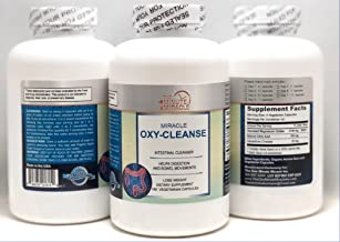 OXY-Cleanse - Colon Cleanser - Super Value 180 Capsules