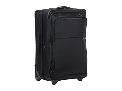 Briggs & Riley Baseline Domestic Carry-On Upright Garment Bag (Black) Carry on Luggage