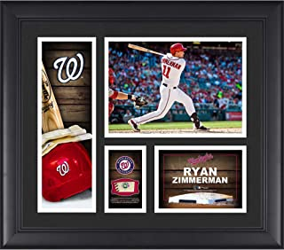 Ryan Zimmerman Washington Nationals Framed 15