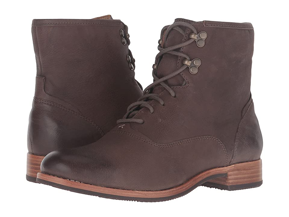 Sebago Jayne Mid Boot (Dark Taupe Leather) Women